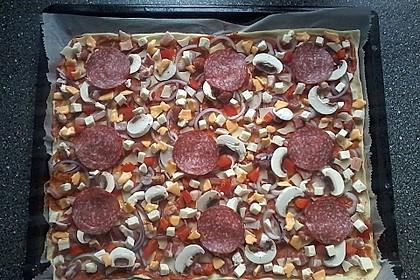 Italienischer Pizzateig 128