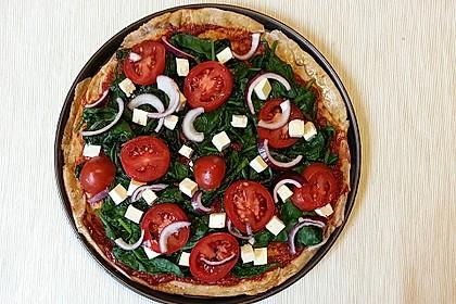 Italienischer Pizzateig 125