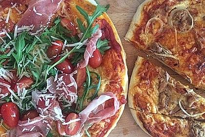 Italienischer Pizzateig 187