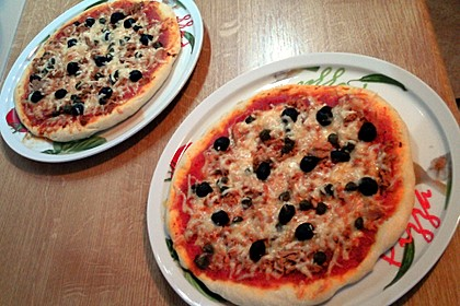Italienischer Pizzateig 221