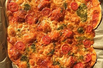 Italienischer Pizzateig 44