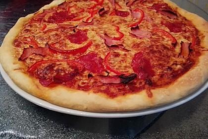 Italienischer Pizzateig 23