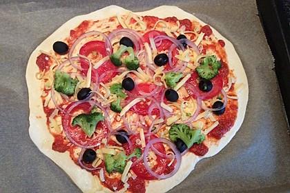 Italienischer Pizzateig 116