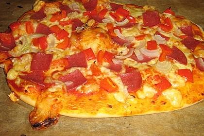 Italienischer Pizzateig 114