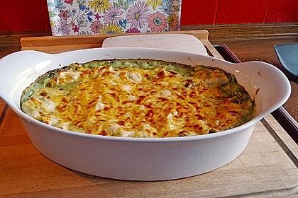Feuermohns gefüllte Lachs Spinat Cannelloni 2