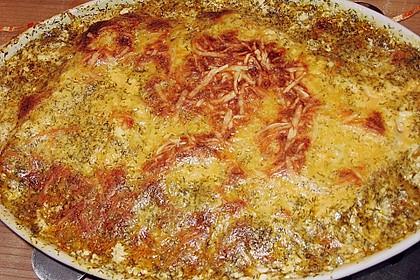 Feuermohns gefüllte Lachs Spinat Cannelloni 11