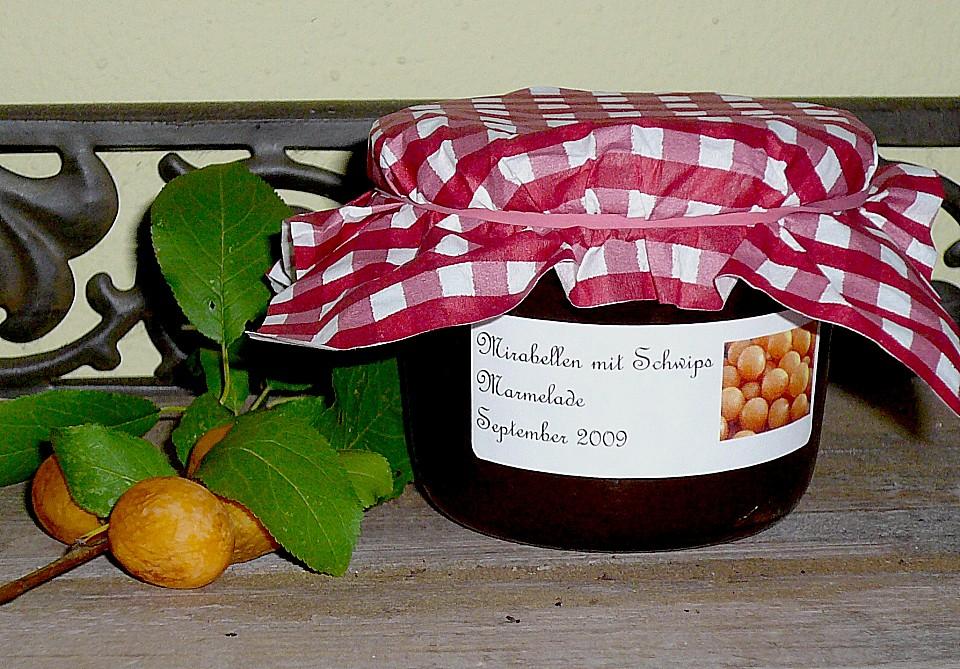 mirabellen marmelade mit schwips rezept mit bild. Black Bedroom Furniture Sets. Home Design Ideas