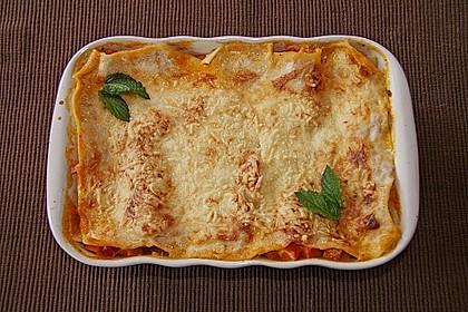 Kürbis - Lasagne mit getrockneten Tomaten 1