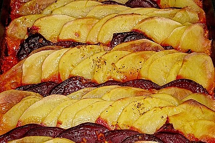 Schrats Kartoffel- und Rote Bete - Gratin 8