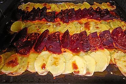 Schrats Kartoffel- und Rote Bete - Gratin 41
