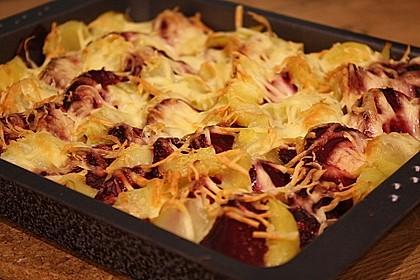 Schrats Kartoffel- und Rote Bete - Gratin 1