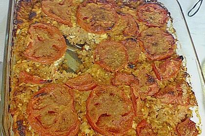 Curryreis mit Hackfleisch und Tomaten