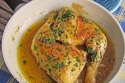 Hähnchen in Knoblauchsauce nach spanischer Art 1