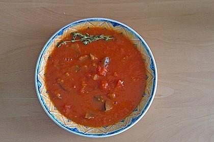 Tomaten - Auberginen - Suppe 1