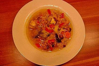 Asiatische Hühner - Nudelsuppe 24