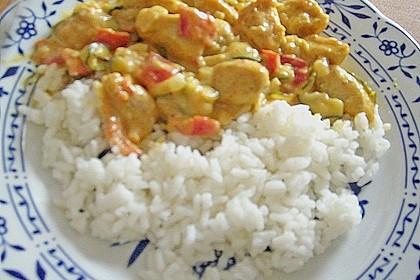 Urmelis Hähnchenbrust in Zucchini - Curry - Sahne - Sauce 71