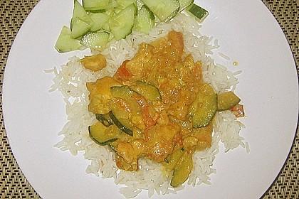 Urmelis Hähnchenbrust in Zucchini - Curry - Sahne - Sauce 31
