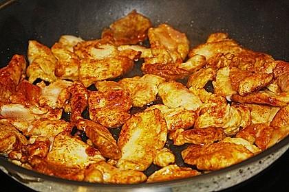 Urmelis Hähnchenbrust in Zucchini - Curry - Sahne - Sauce 55