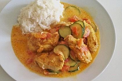 Urmelis Hähnchenbrust in Zucchini - Curry - Sahne - Sauce 36