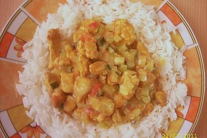 Urmelis Hähnchenbrust in Zucchini - Curry - Sahne - Sauce 33