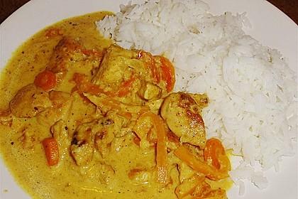 Urmelis Hähnchenbrust in Zucchini - Curry - Sahne - Sauce 39