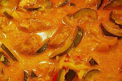 Urmelis Hähnchenbrust in Zucchini - Curry - Sahne - Sauce 63