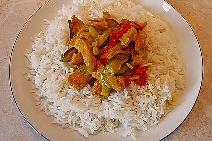 Urmelis Hähnchenbrust in Zucchini - Curry - Sahne - Sauce 23