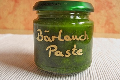 Bärlauch - Paste 33