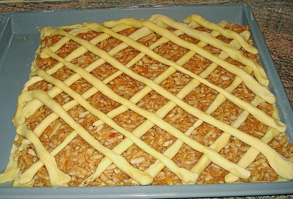 Apfelkuchen mit sauerrahm rezept