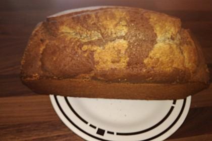 Marmorkuchen mit Mandeln