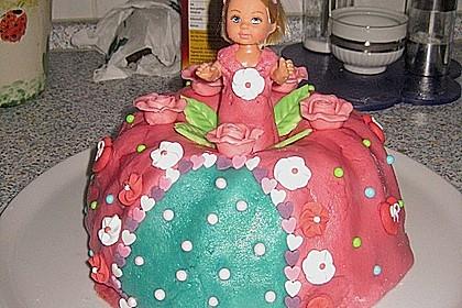 Prinzessinnen - Torte 22
