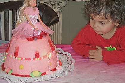 Prinzessinnen - Torte 19