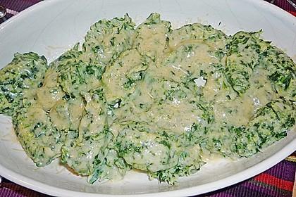 Spinat - Käse - Nocken 5