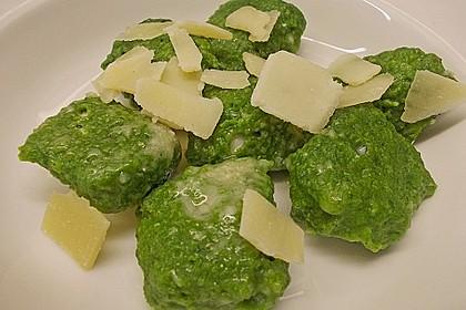 Spinat - Käse - Nocken 3
