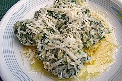 Spinat - Käse - Nocken
