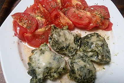 Spinat - Käse - Nocken 2