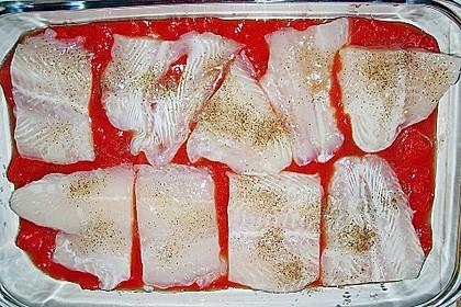 Fischfilet mit Kartofffel - Kräuter - Kruste 28