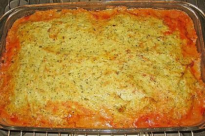 Fischfilet mit Kartofffel - Kräuter - Kruste 20