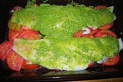 Fischfilet mit Kartofffel - Kräuter - Kruste 14