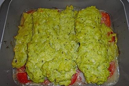 Fischfilet mit Kartofffel - Kräuter - Kruste 17