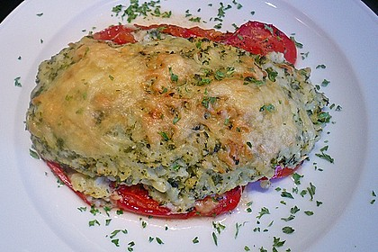 Fischfilet mit Kartofffel - Kräuter - Kruste 2