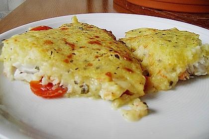 Fischfilet mit Kartofffel - Kräuter - Kruste 3