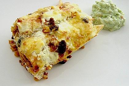Überbackene Enchiladas mit Avocado-Dip 0