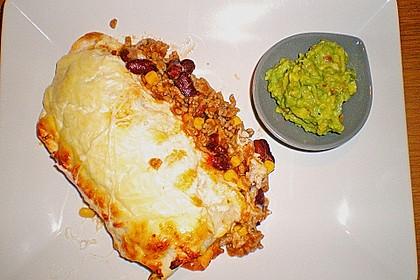 Überbackene Enchiladas mit Avocado-Dip 8