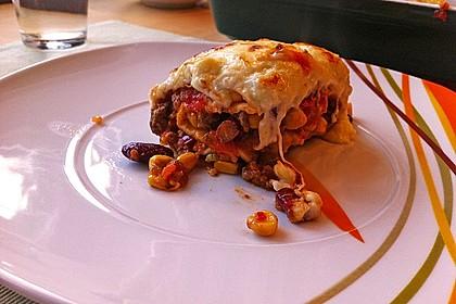 Überbackene Enchiladas mit Avocado-Dip 10
