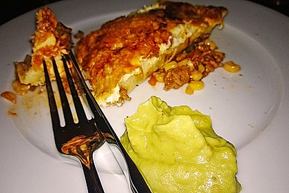 Überbackene Enchiladas mit Avocado-Dip 18