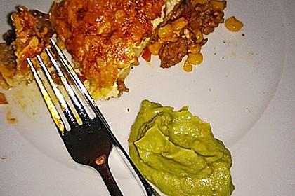 Überbackene Enchiladas mit Avocado-Dip 16