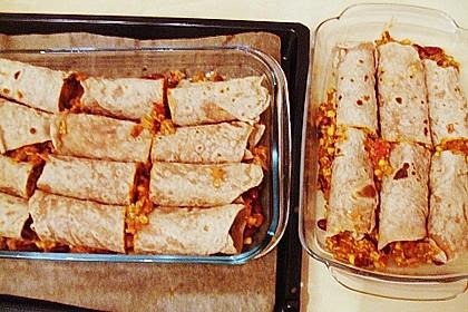 Überbackene Enchiladas mit Avocado-Dip 17