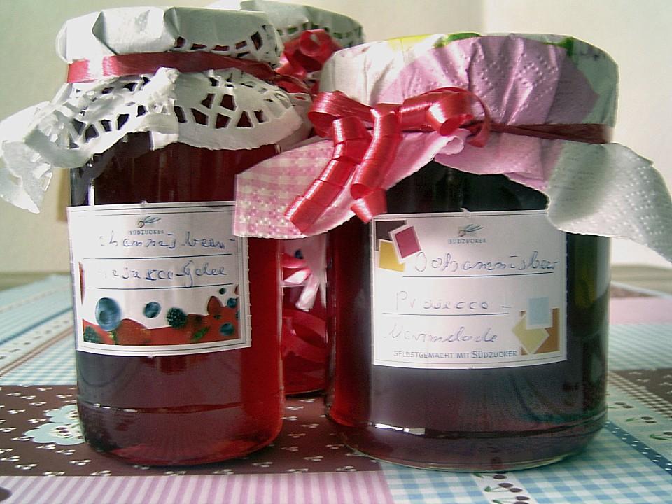 johannisbeer prosecco marmelade rezept mit bild. Black Bedroom Furniture Sets. Home Design Ideas