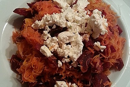 Rote Bete - Möhren - Salat